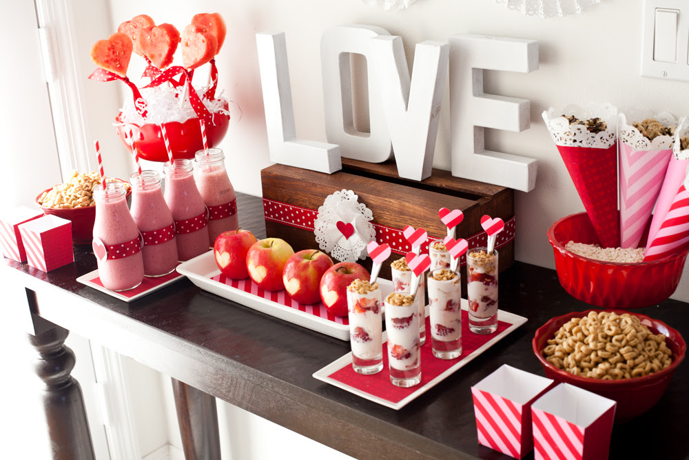 Healthy Valentine's Day Dessert Table - Project Nursery
