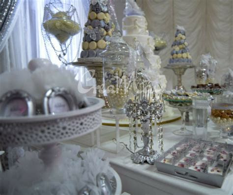Silver Wonderland Wedding   Bridal Shower Ideas   Themes