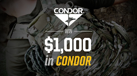 Win $1,000 in Condor @TacticalGear.com