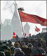 Conmemoración en Moscú de los 50 años de la muerte de Stalin.