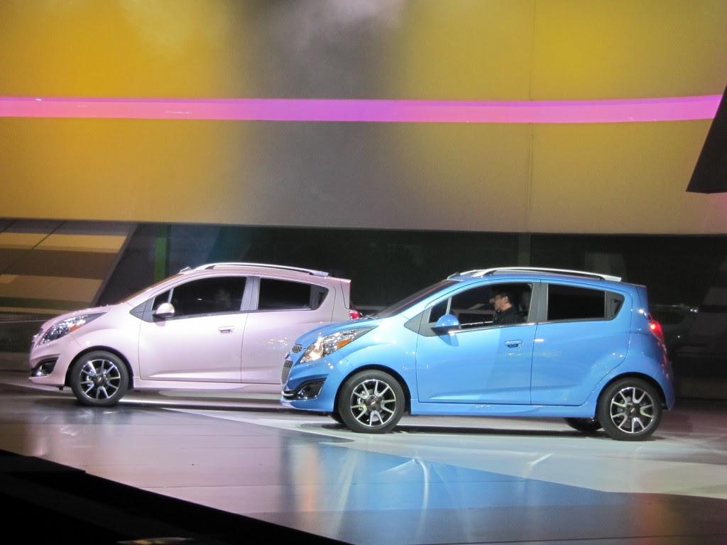2013 Chevrolet Spark: Details, Live Photos From L.A. Auto Show