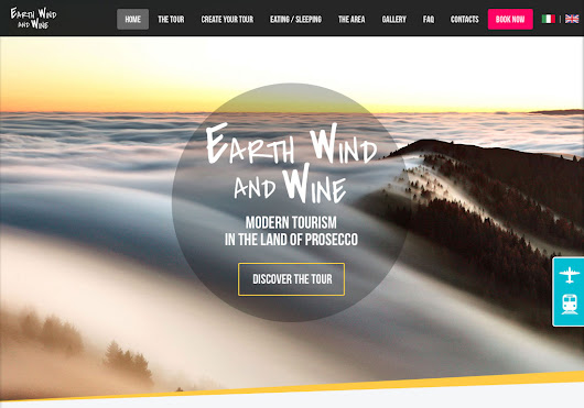 Earth Wind & Wine - CSS Winner