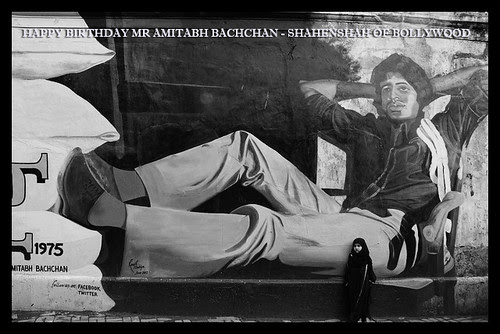 Happy Birthday Mr Amitabh Bachchan Shahenshah of Bollywood by firoze shakir photographerno1