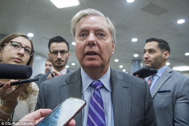 Graham said: 'We're not to the tipping point yet' with North Korea. 'If they test another [nuclear] weapon, then all bets are off'