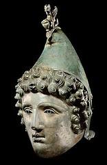 An Exceptional Roman Bronze Cavalry Parade Helmet