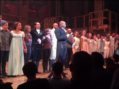 Mike Pence sees 'Hamilton,' gets sharp, personalized speech from cast | Toronto Star