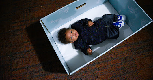 Baby in a Box? Free Cardboard Bassinets Encourage Safe Sleeping