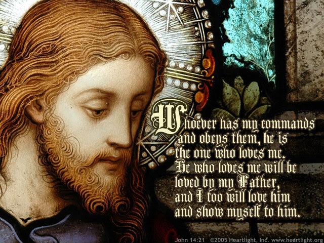 Inspirational illustration of John 14:21