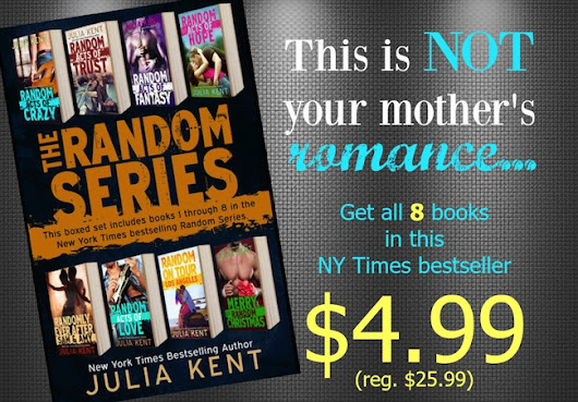 Book Bundle Blitz: Random Series Mega Bundle (The Random Series, #1-8) by Julia Kent + Giveaway