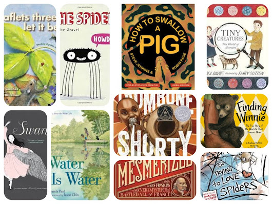 NF10for10 2016: Nonfiction Books as Mentor Texts for Writing