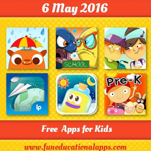 38 Best Free Apps for kids and Education - #APPFRIDAY May 6