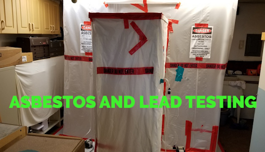 An environmental consulting specializes in asbestos and lead testing