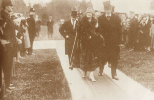 Queen Marie and the Governor of Canada, 1926