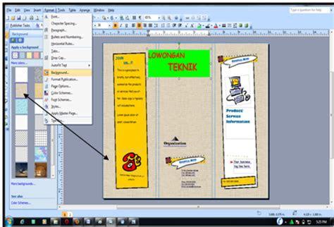 kurniya agustin tutorial membuat brosur menggunakan ms