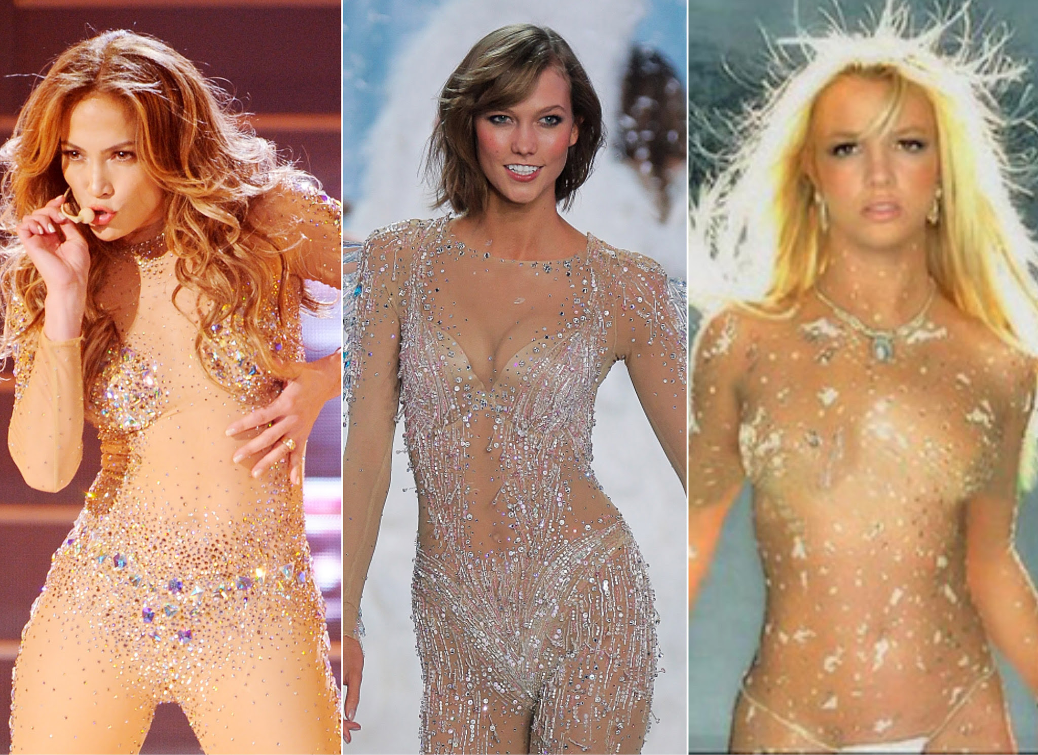 Fashion Faceoff: Karlie Kloss vs. J.Lo vs. Britney Spears