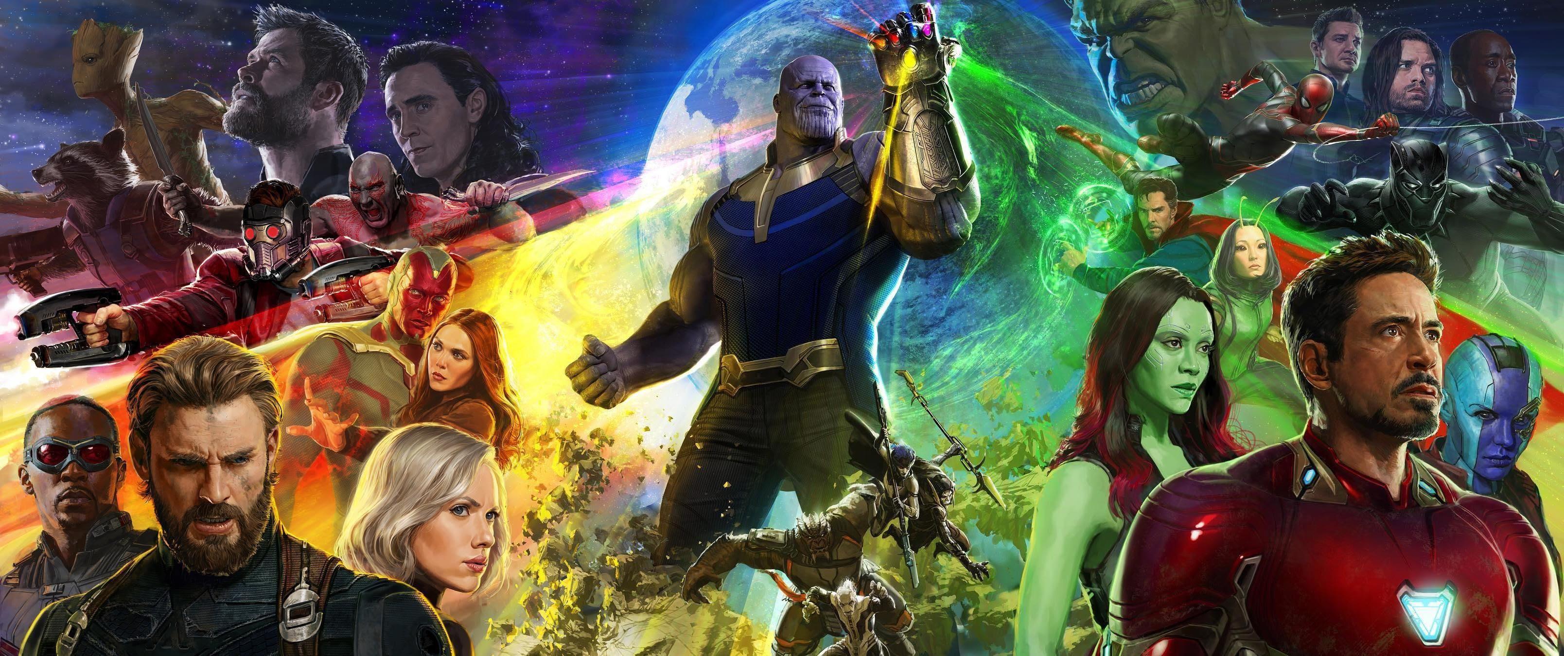 Resultado de imagen para avengers infinity war poster