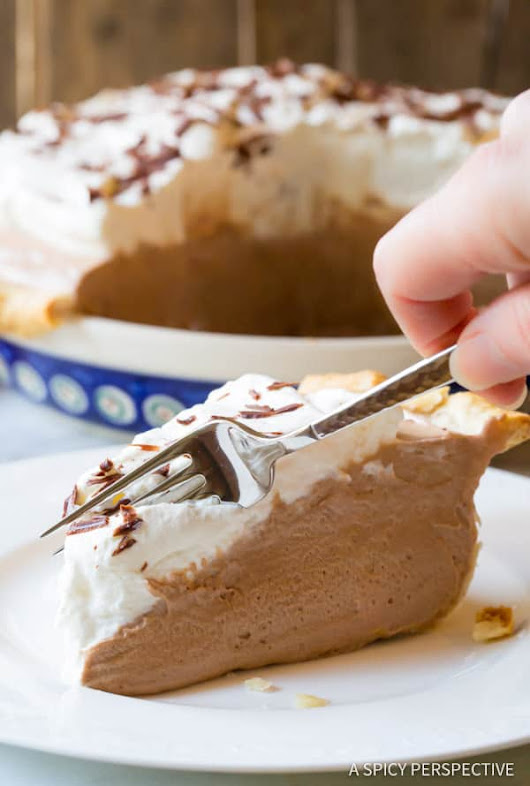 Fluffy French Silk Pie - A Spicy Perspective