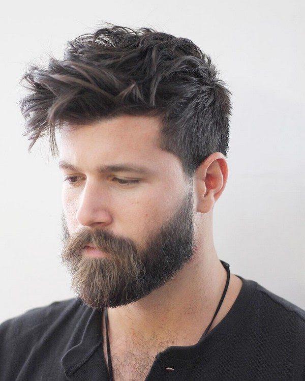 16 Attraktivsten Männer Frisuren Mit Bärte Neue Trend Frisuren
