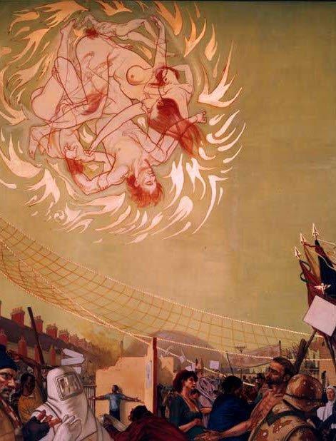 mural2 Imagens e Símbolos  ocultos em afrescos da América