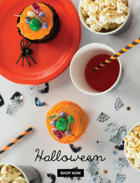 Trick or Treat? 20% off = Happy Halloween from The Party Cupboard