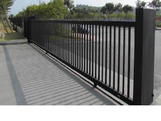 Steel Sliding Gate - Almacs Steel Ltd