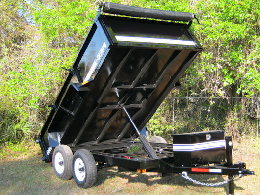 U-Dump - 7' x 12' 10K Dump Trailers For Sale