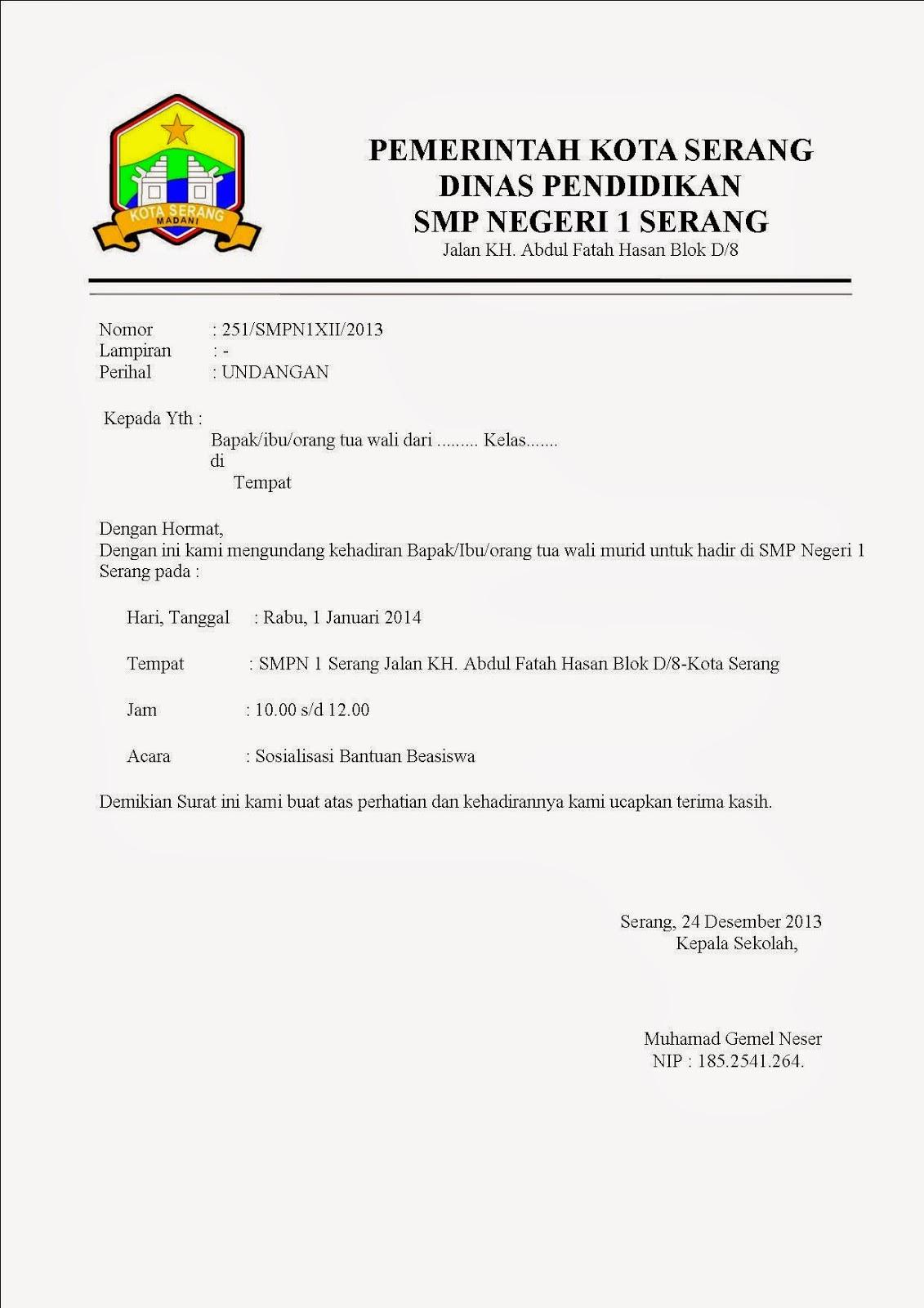11+ Contoh surat resmi hd terbaru terbaru