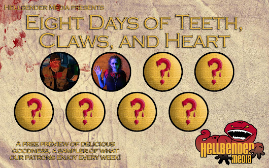 "Welcome to Day 2 of ""Eight Days of Teeth, Claws, and Heart"" 