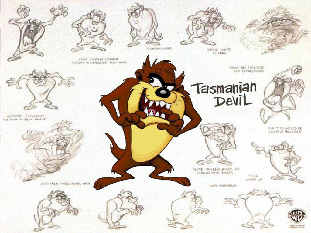Taz The Tasmanian Devil Wallpaper Wallpaper 11