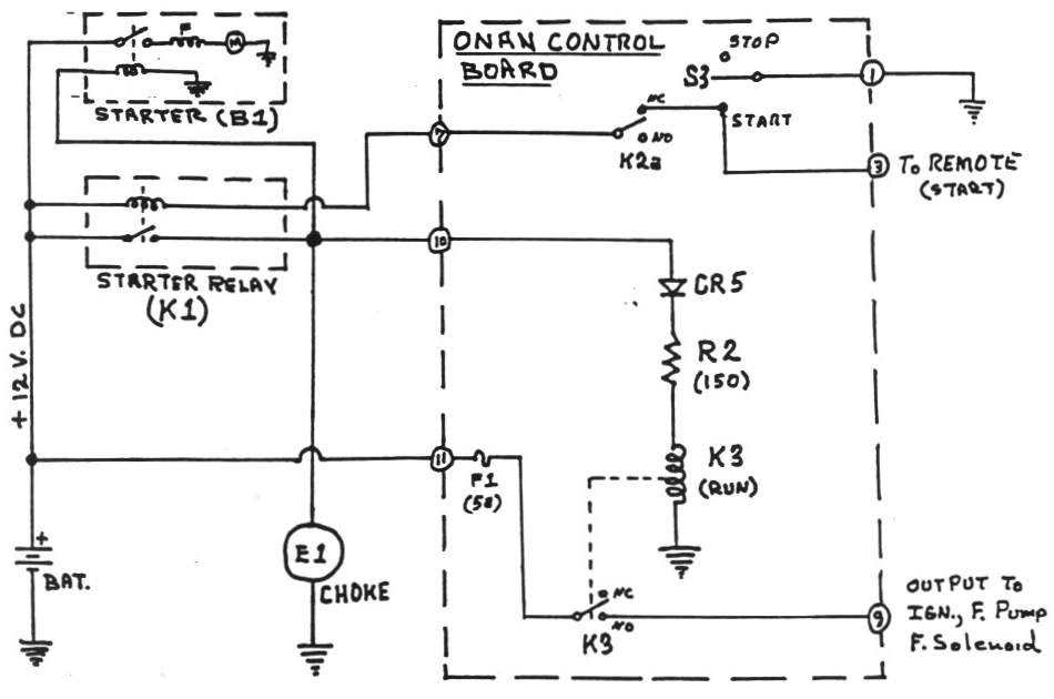Onan Generator Wiring Diagram on