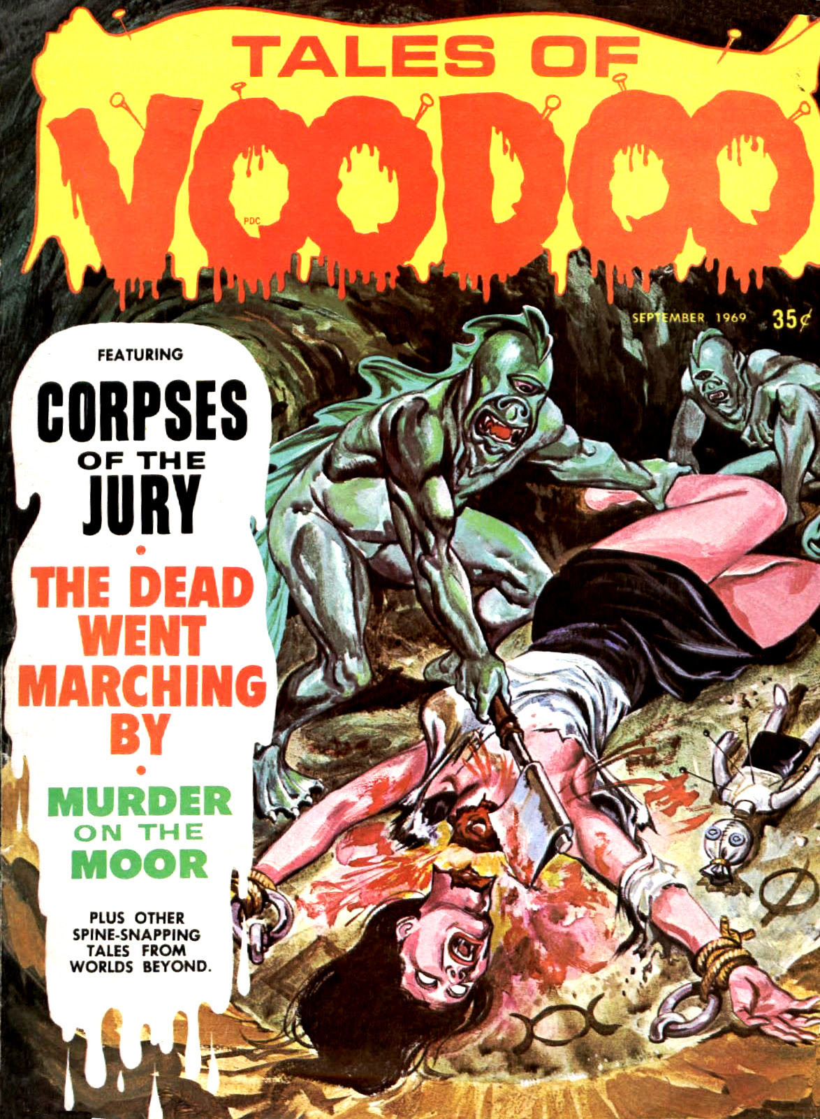 Tales of Voodoo Vol. 2 #4 (Eerie Publications 1969)