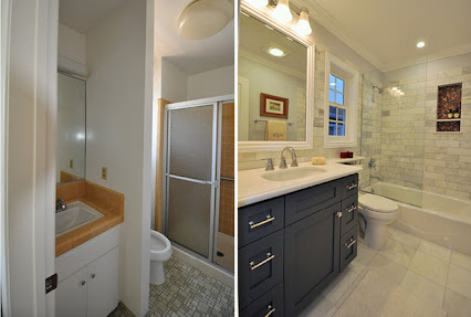 Google profiles for Bathroom remodel 9x5