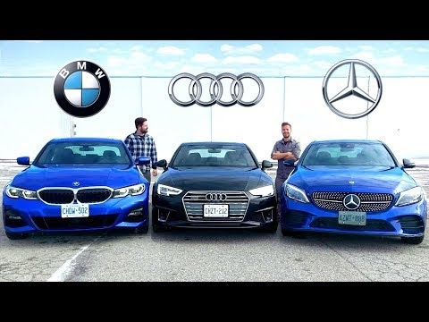 One auto test you shouldn't skip: 2019 BMW 3 Series vs Audi A4 vs Mercedes C-Class