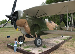 Old Thai airforce plane