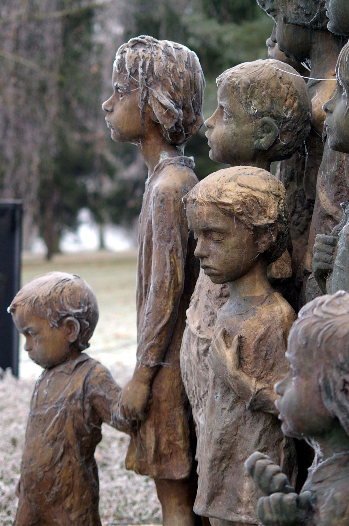Memorial das Crianças Vítimas de Guerra em Lidice 06