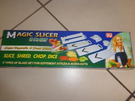 Magic Slicer 6 Pc Set Slice, Shred, Chop, Dice Waterford West Logan