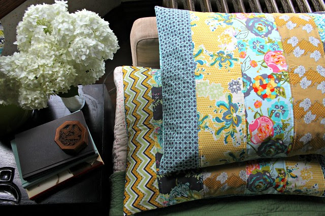 LillyBelle Quilted Pillow Shams!