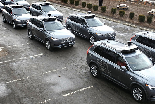 Uber Disabled Volvo SUV's Safety System Before Fatality