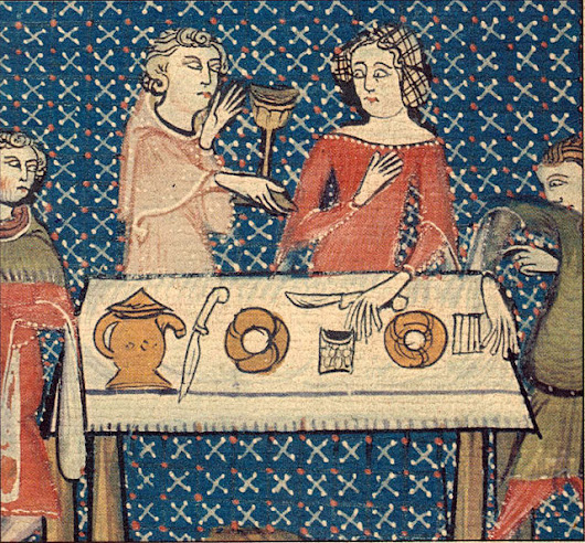 Two Medieval Monks Invent Dinner Parties