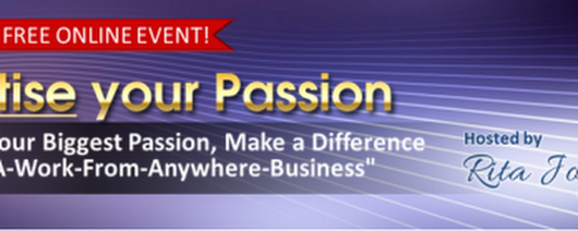 Monetise Your Passion Registration |