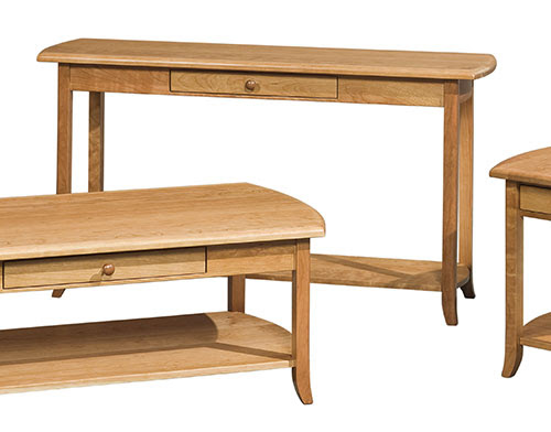 Amish Furniture Hall Tables