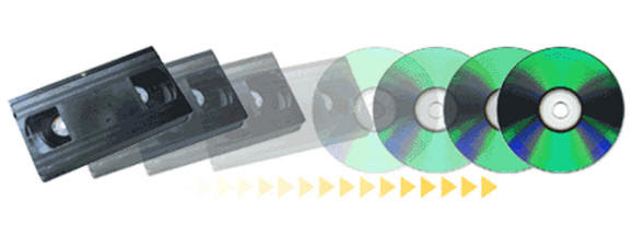 Resultado de imagen para vhs a DVD