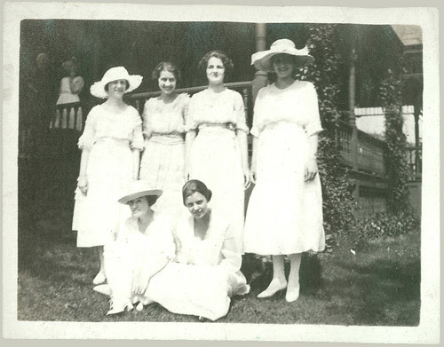 Group out on the lawn
