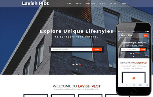 Lavish Plot a Real Estate Category Bootstrap Responsive Web Template