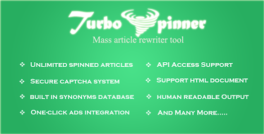 Download Turbo Spinner: Article Rewriter nulled | OXO-NULLED