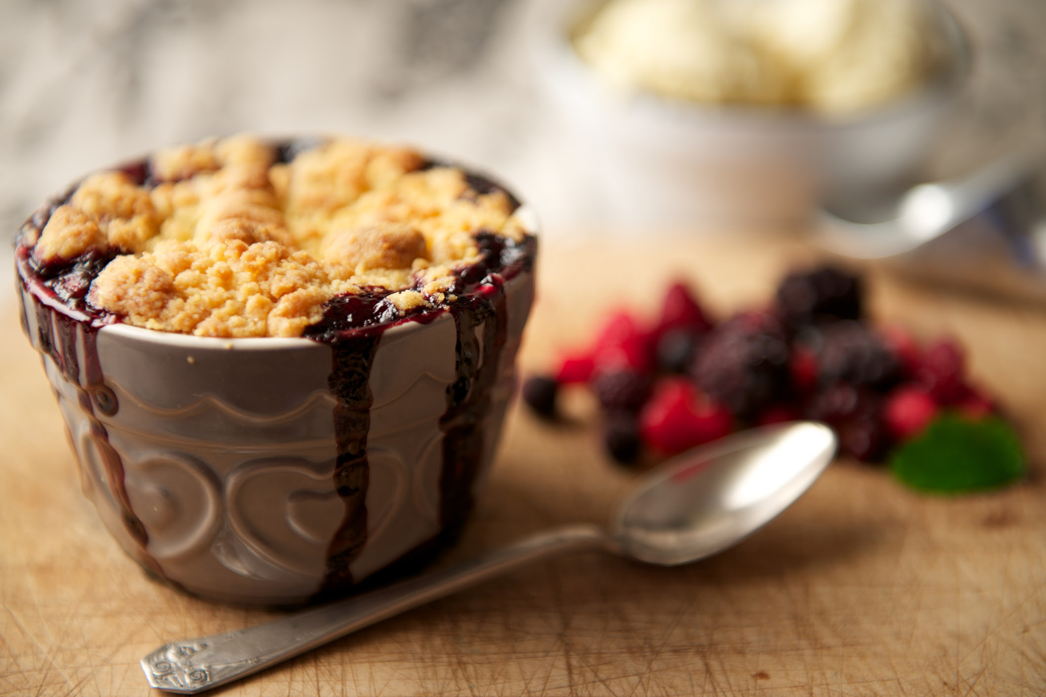 Generic photo of a bowl of fruit crumble (Thinkstock/PA)
