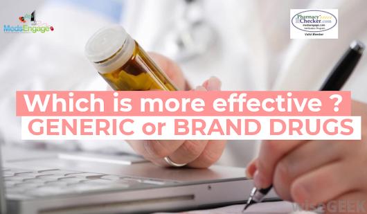 What is the difference between Generic & Brand drugs ? — MedsEngage