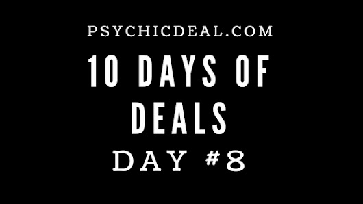 Ten Days of Deals (Day #8): Receive a Psychic Reading for $1/min plus 3 Free Minutes | Great Deals on Professional Psychic Services