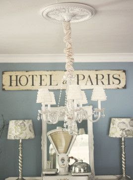 Love the sign : Shabby Chic Bedroom Decorating Ideas