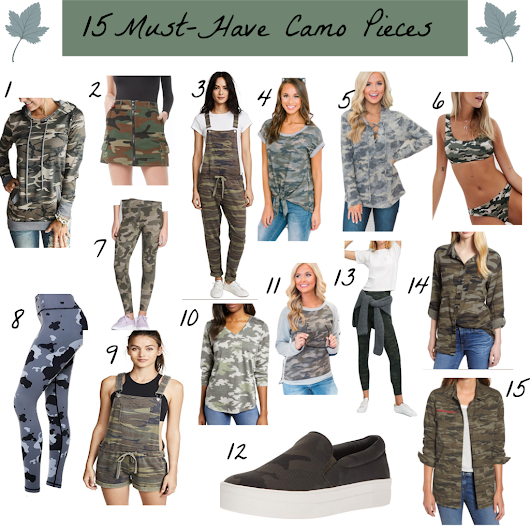 15 Must Have Camo Pieces - More Than A Fashion Blog